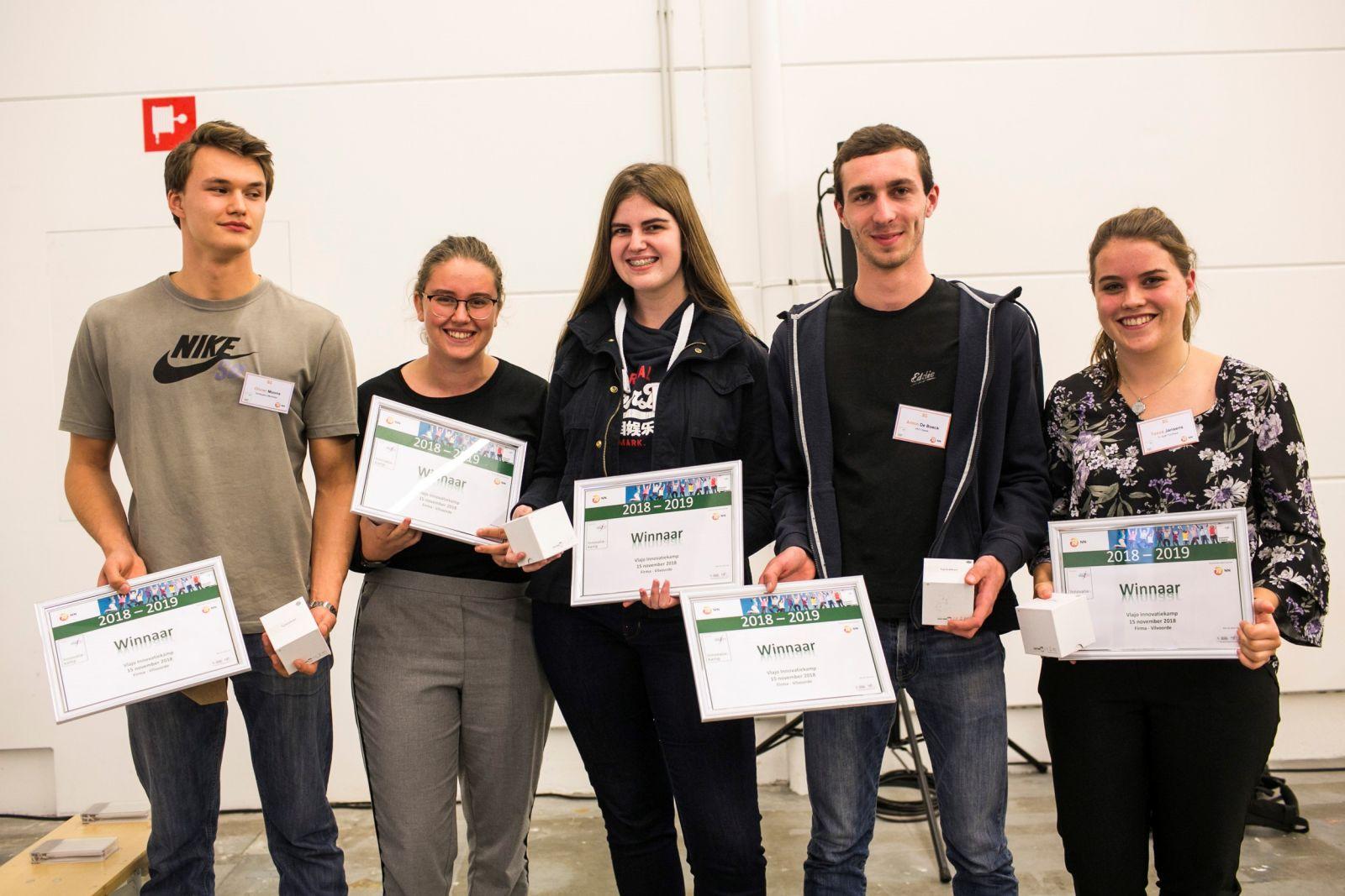 Leerlingen winnen innovatiekamp met levensverzekeringspakket voor studenten