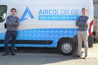 Alumni | Michael en Benoit vullen een gat in de airco-markt