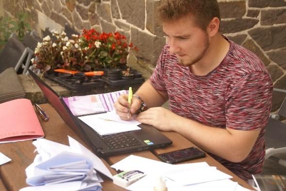 Alumni | Maikel zet zijn minionderneming succesvol verder!