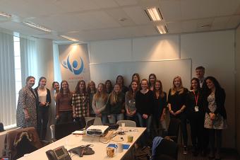Sint-Janscollege Meldert neemt deel aan allereerste AT&T Girls' Day