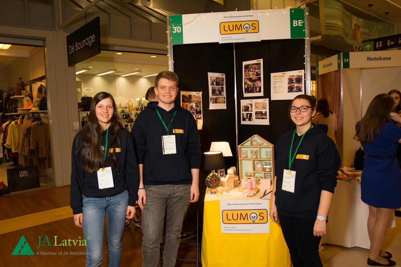 Vlajo Mini-ondernemingen op avontuur in Riga
