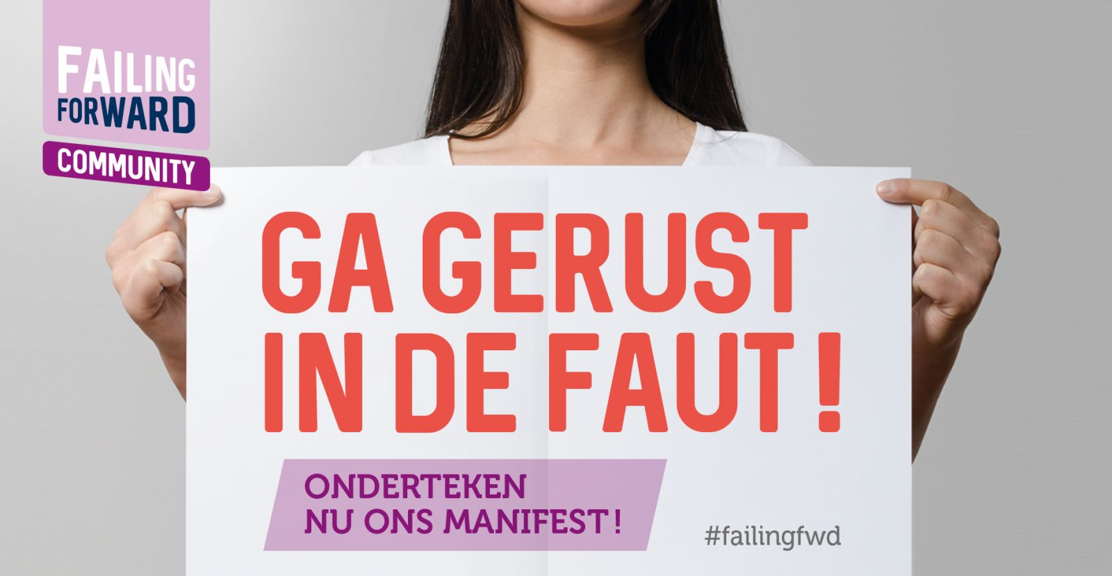 Failing Forward-campagne gestart