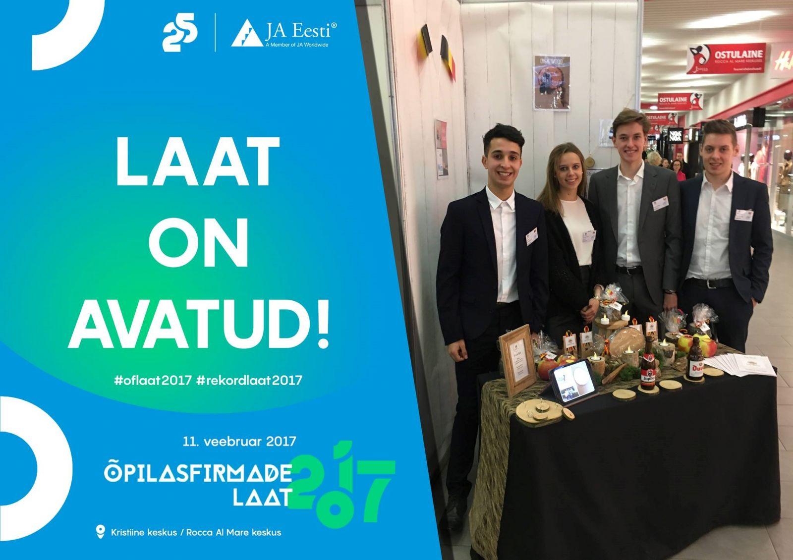 Turnhoutse miniondernemers maken indruk in Estland!
