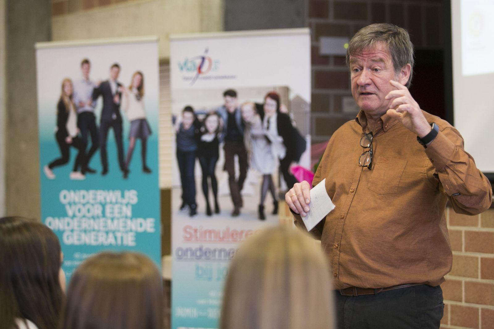 Succesvolle kick-off Ondernemers voor de Klas met Wouter Torfs