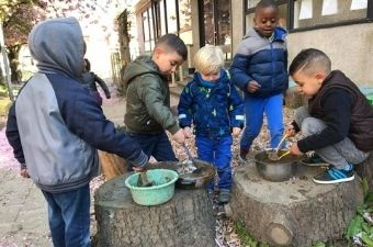 Outdoor Learning in kleuterklas en lagere school