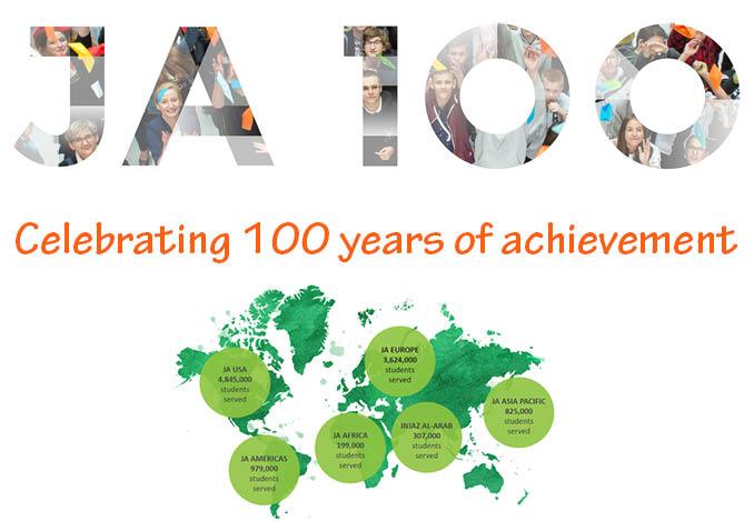Gelukkige verjaardag Miniondernemingen. 100 jaar, meer dan ooit levend