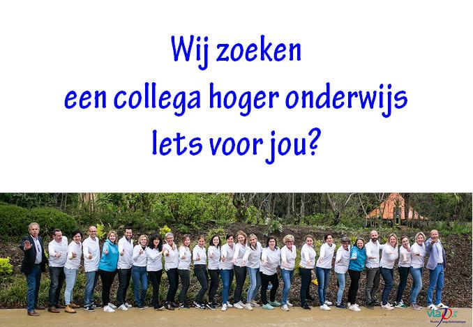 Vacature projectleider Hoger Onderwijs (FT)