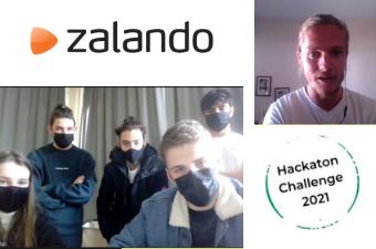 Zesdejaarsleerlingen Bovenbouw Sint-Michiels Leopoldsburg winnen Zalando Hackathons Challenge