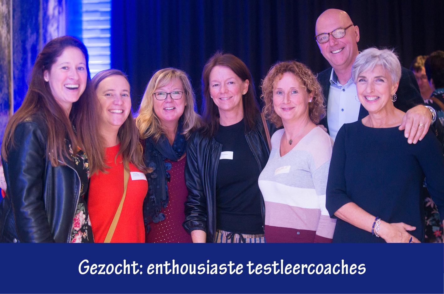 Gezocht: enthousiaste testleercoaches derde jaar secundair