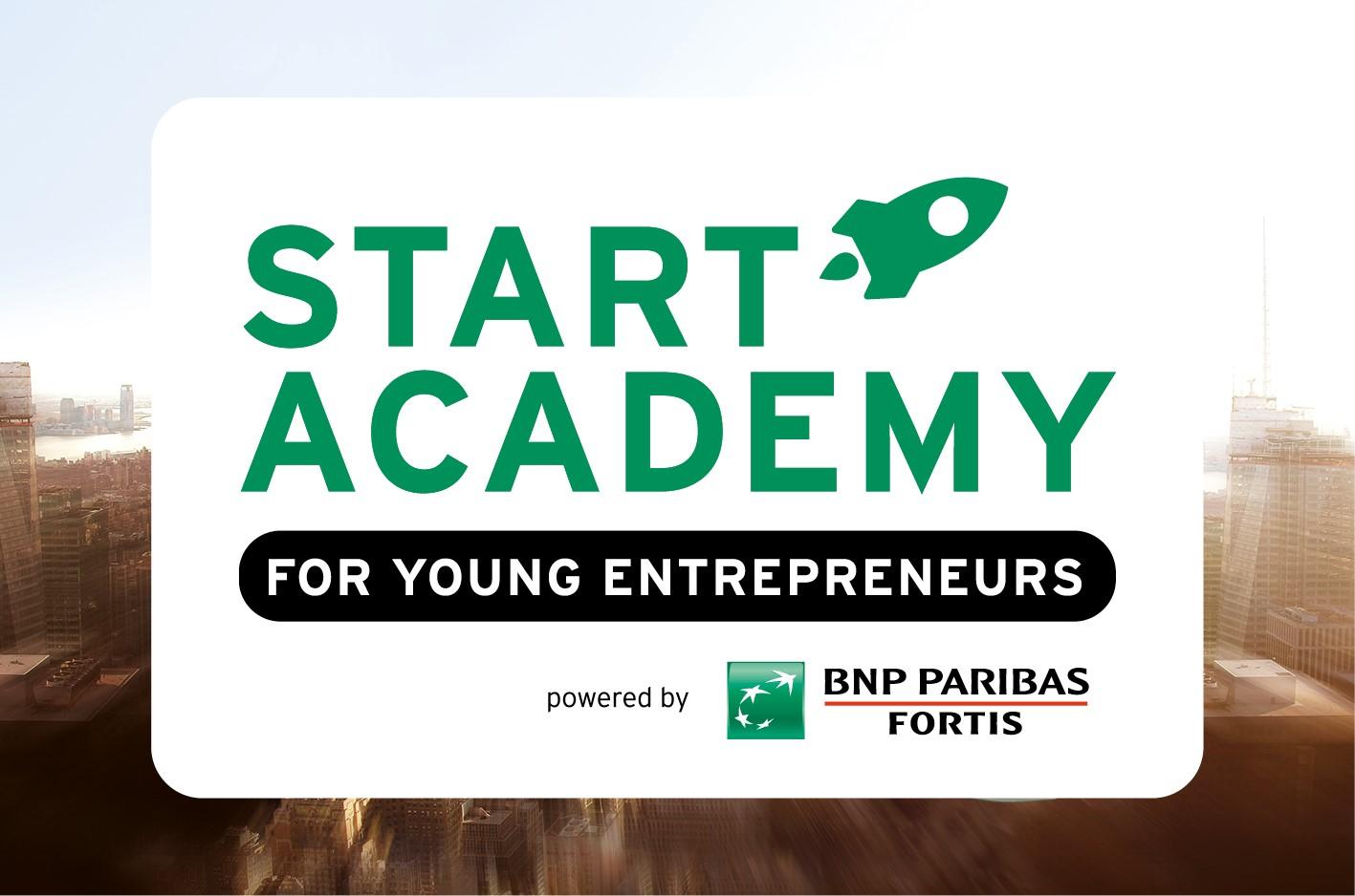 BNP Paribas Fortis nieuwe hoofdpartner Start Academy