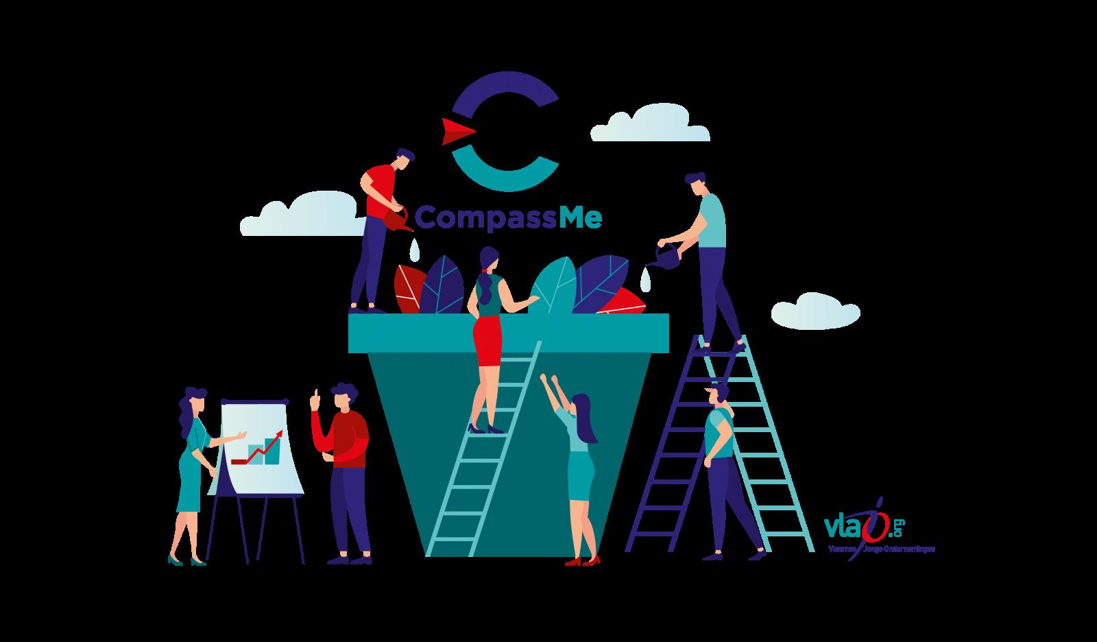 CompassMe gelanceerd voor Vlaamse secundaire scholen