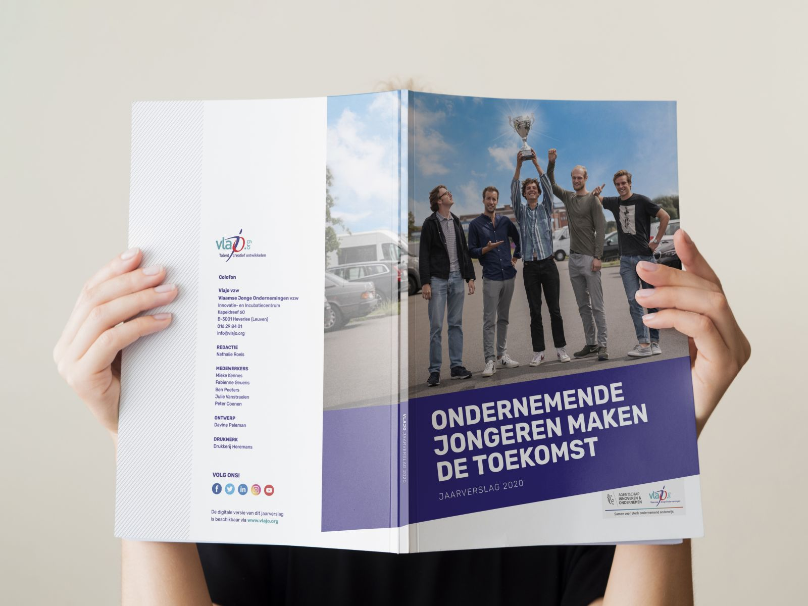 Het jaarverslag 2020 van Vlajo is er