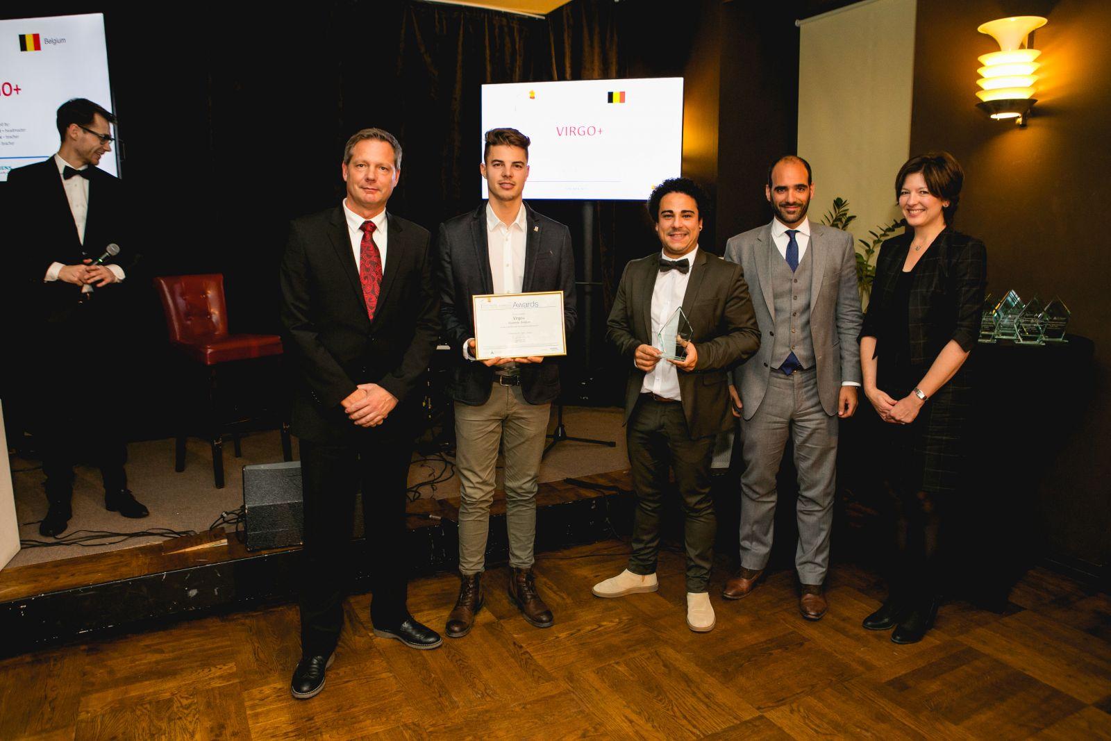 Virgo+ uit Vilvoorde wint Europese prijs 'Ondernemende School'