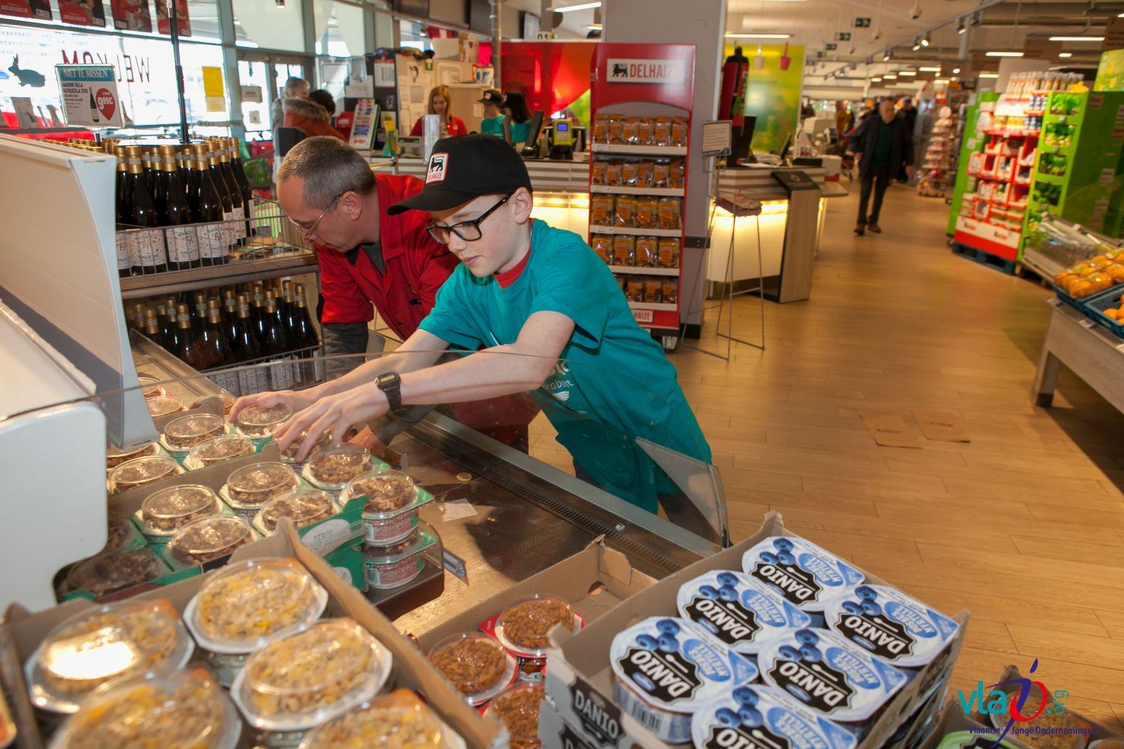 1.000 leerlingen op 'talentenstage' in supermarkten Albert Heijn en Delhaize