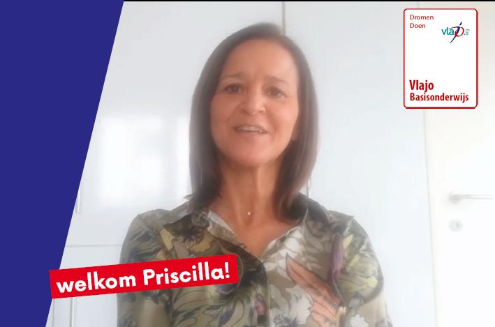 Welkom Priscilla bij team basis!