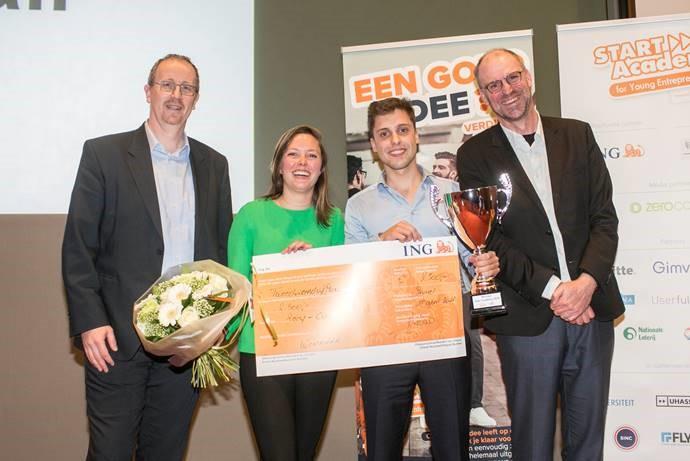 Recy-call van UGent wint ideeënwedstrijd Start Academy