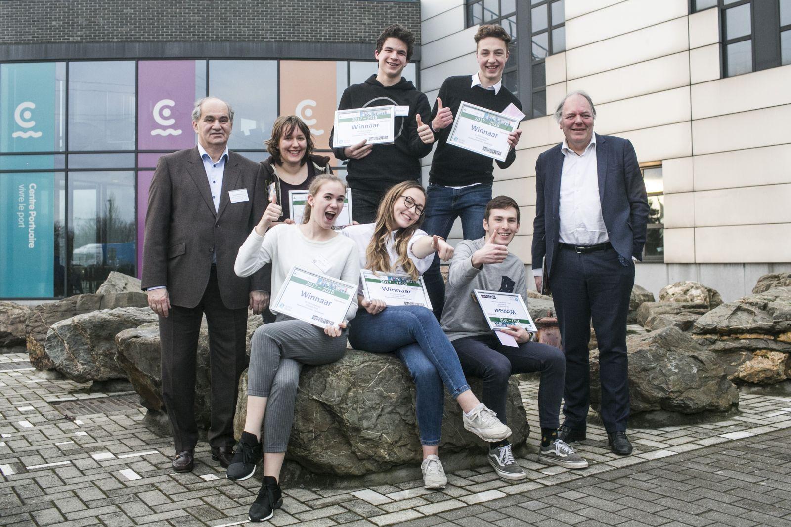 Jongeren bedenken oplossingen voor duurzame mobiliteit op Vlaamse Sci Tech Challenge