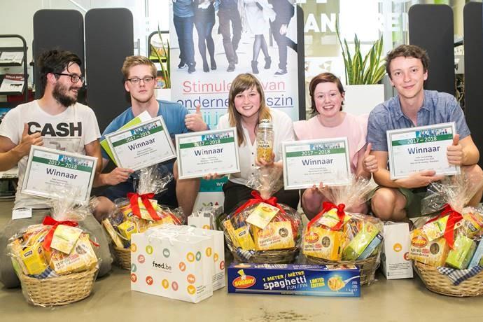Studenten bedenken pastashaker voor Soubry