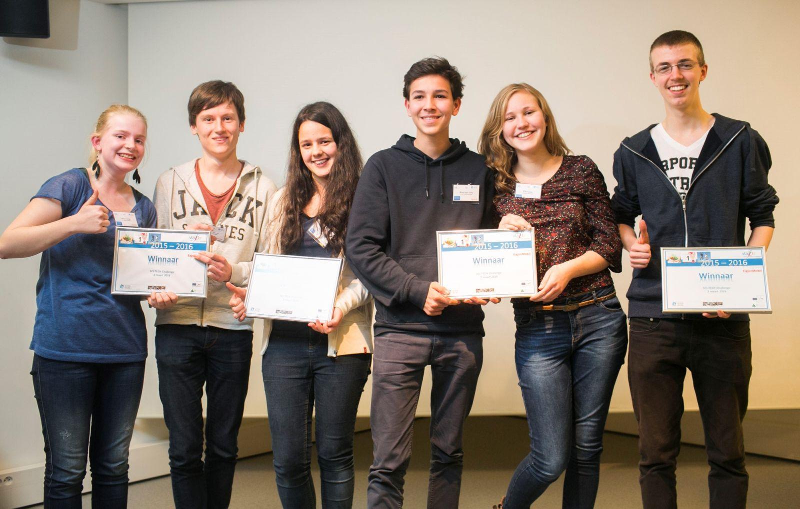 Jongeren bedenken oplossingen voor drink- en afvalwater op Sci Tech Challenge