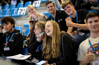 500 jongeren brainstormen over sport en innovatie
