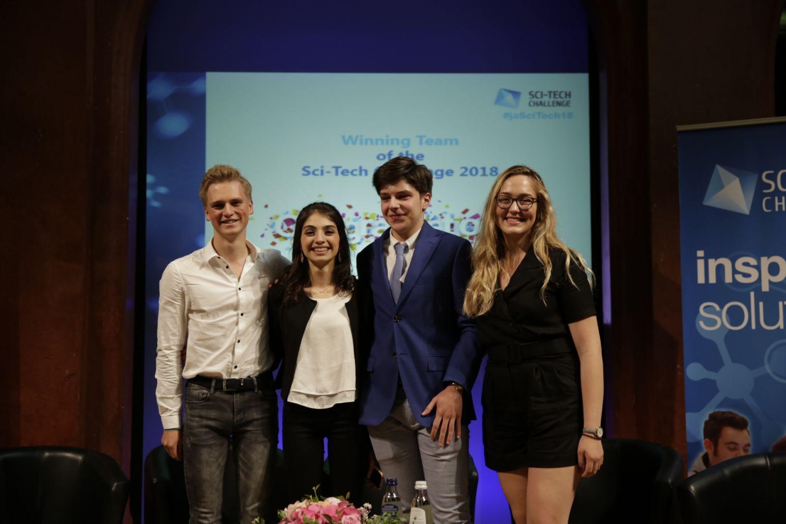 Vlaamse leerling van KA Pitzemburg Mechelen wint SCI-TECH Challenge