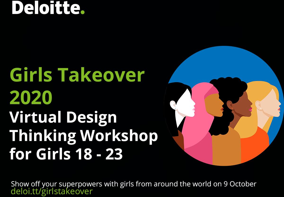 Schrijf je in voor de Girls Takeover van Deloitte