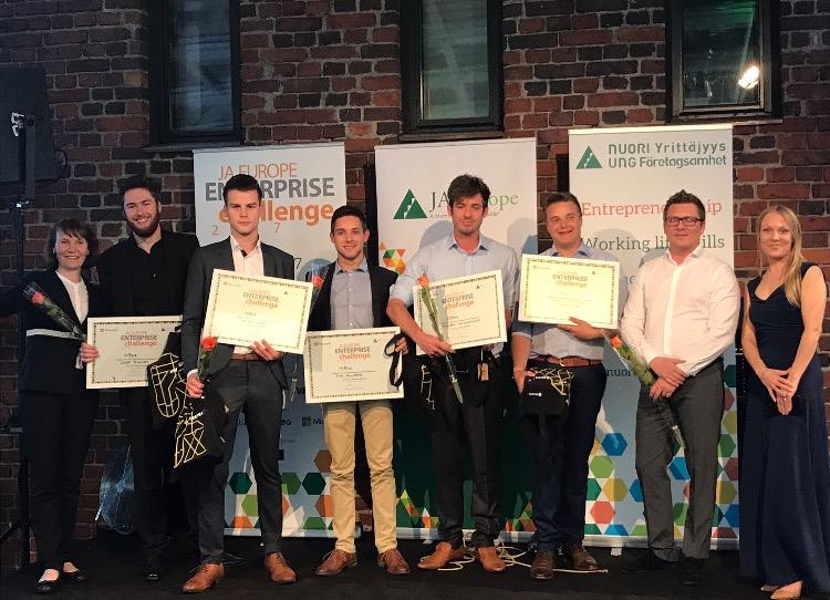 Vlajo startup IOBee in de prijzen op Europese finale in Helsinki