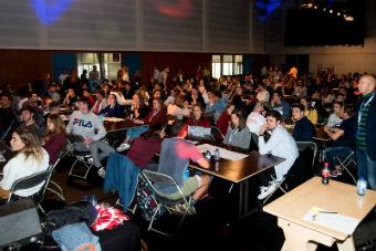 300 studenten brainstormen rond sport in de toekomst