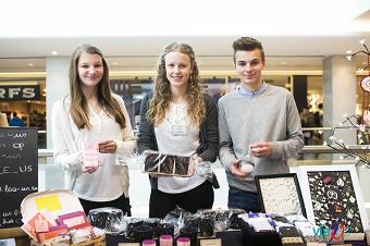 Duizenden jonge ondernemers kleuren Vlaamse winkelcentra