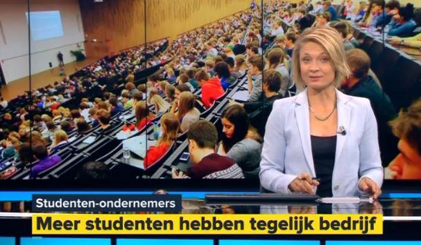 Meer en meer studenten zijn van het ondernemende type