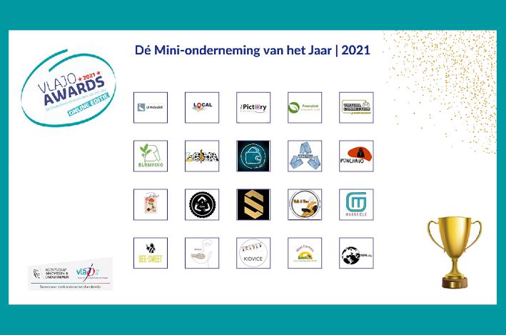 20 Vlaamse finalisten voor Dé Mini-onderneming van het Jaar