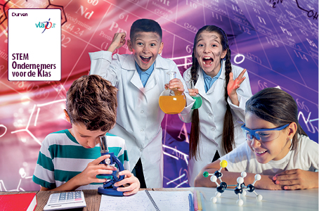 Kies nu een STEM-gastspreker voor je klas