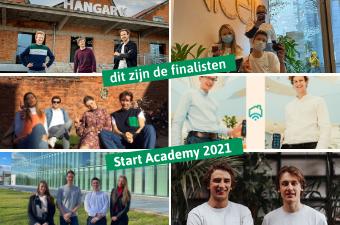 6 finalisten van Start Academy 2021 zijn bekend